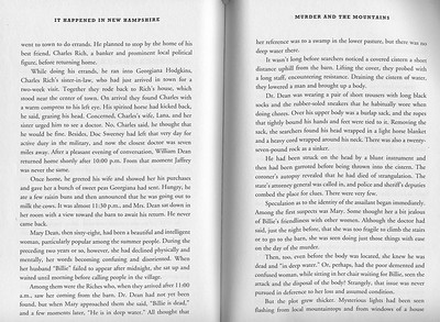"""'Murder and the Mountains' in """"It Happened in New Hampshire"""" by Stillman Rogers, second edition 2012. Pages 104-05."""