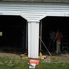Repairs to Horsesheds. July 1, 2008.