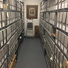Dublin Archives, archival bay. March 25, 2019.