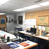 Dublin Archives, work area looking southwest. March 25, 2019.
