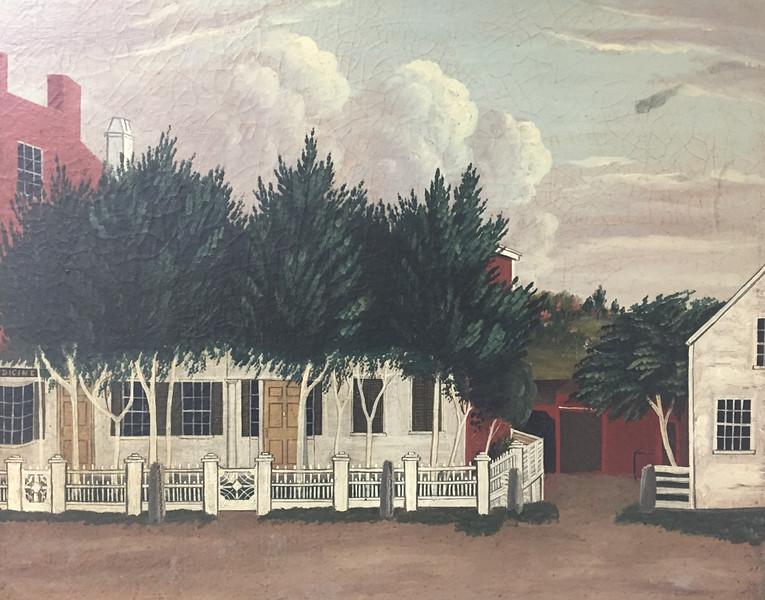 Francestown Improvement & Historical Society. Painting. September 9, 2015.