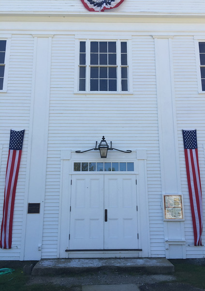 Francestown Town Hall, former Academy. September 9, 2015.