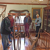 Autumn Outing to Wilton, NH, October 16, 2016. Historical Society rooms in Gregg Library.