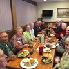 Autumn Outing to Wilton, NH, October 16, 2016. Supper at Bradys in Peterborough.