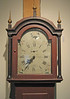 Tallcase clock made by Robinson Perkins of Jaffrey. Purchased by the JHS at Cobbs Auction.