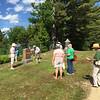 Conant Cemetery Walking Tour, June 18, 2016. #9 Alice Lehtinen by Betty Shea.