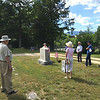 Conant Cemetery Walking Tour, June 18, 2016. #8 Franklin Humiston by Helen Coll.