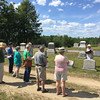 Conant Cemetery Walking Tour, June 18, 2016. #4 Alice Adams by Betty Shea.