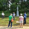 Conant Cemetery Walking Tour, June 18, 2016. #12 D. D. Bean by Emily Preston.