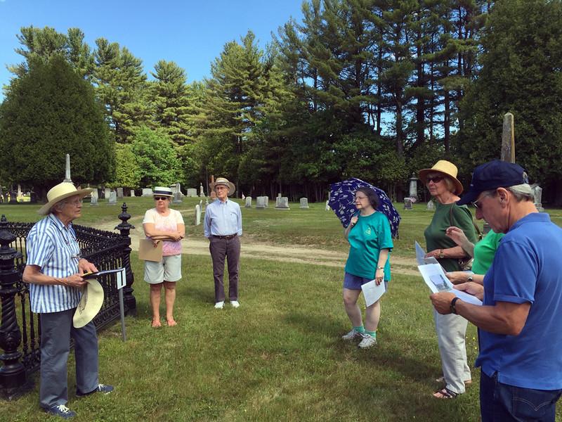 Conant Cemetery Walking Tour, June 18, 2016. #1 John Conant by Emily Preston.