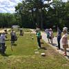 Conant Cemetery Walking Tour, June 18, 2016. #7 Frederick Sweeney by Paul St. Pierre.