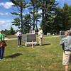 Conant Cemetery Walking Tour, June 18, 2016. #5 Jule Durant by Dick Boutwell.