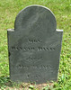 Gravesite of Hannah Davis, Old Burying Ground, Jaffrey Center. This was the Band Box maker's mother.