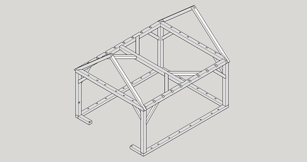 Frame Only - Isometric