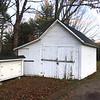 Francestown NH hearse house, Cemetery #2. November 3, 2017.