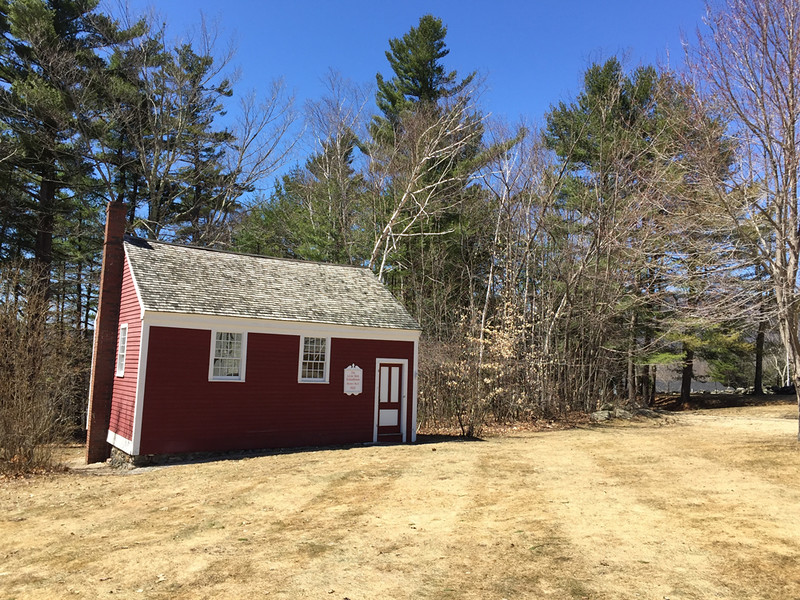 Little Red Schoolhouse, April 15, 2015.