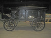 The wheeled hearse at the Belletete warehouse in Squantum, September 3, 2013.