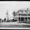 Cutters Hotel looking north from Main Street with Church and Cutter Tavern in background.