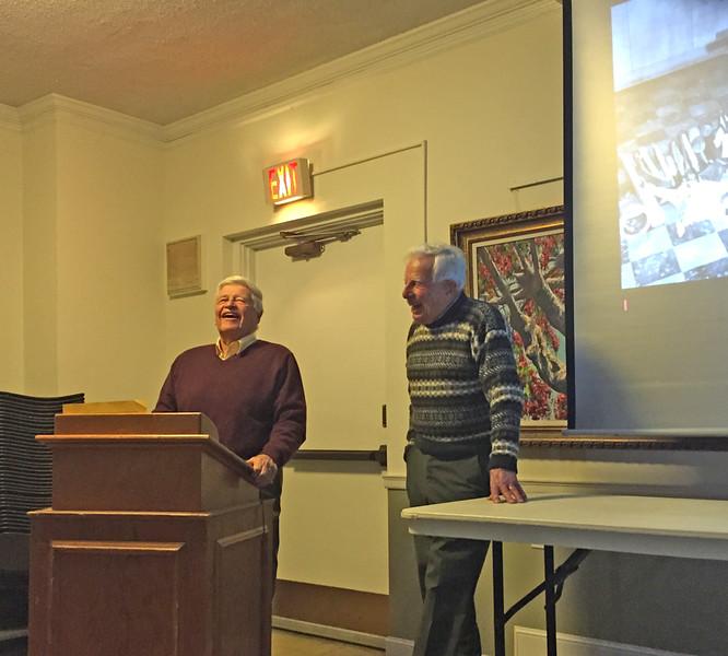 Bill Coleman and Joe Manning. April 9, 2015.