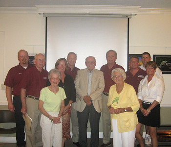 The Belletete family at the Annual Meeting, August 8, 2013.