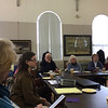 Monadnock Historical Societies Roundtable meeting at the Historical Society of Cheshire County. February 19, 2015.