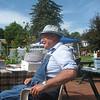 Pete Sawyer at Riverfest. July 26, 2014.