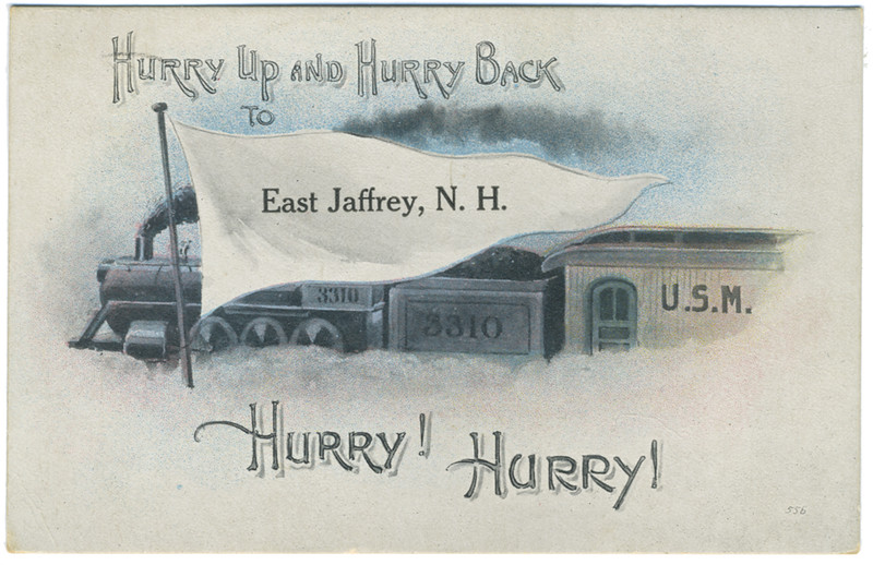 Novelty card. 1918