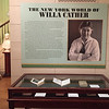 Willa Cather exhibit at the New York Society Library. March 20, 2018