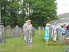 Old Burying Ground Walking Tour, June 25, 2017. Photo by Bill Driscoll.