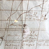 Plan of Monadnock no. 2 [Jaffrey] and Rindge, N.H. 1750. New Hampshire Historical Society. Detail showing Meetinghouse.