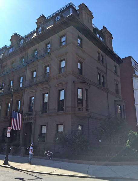 1 Arlington Street, the home of Leonard Cutter of Jaffrey. September 24, 2015.