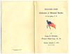 Program for the Dedication of the Memorial Boulder, September 6, 1919.