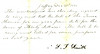 Contract to ring the bell in the Meetinghouse for $30 for the year 1871, signed by S. J? Smith.