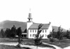 Date: 1892. Meetinghouse before installation of clock.