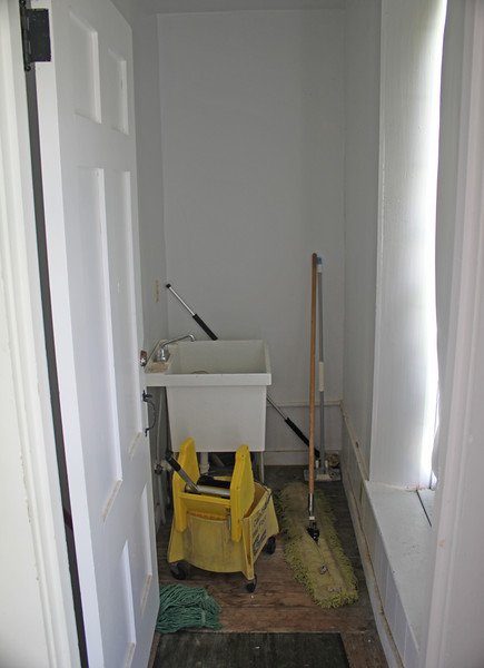 Janitor's closet. 2 June 2016.