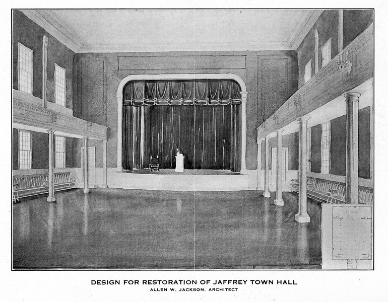 Design for 1922 restoration