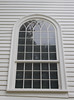 Pulpit window. North facade. 2 June 2016.
