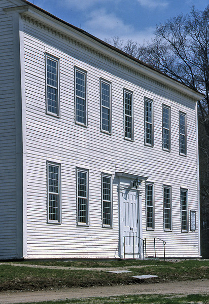 Jaffrey Meetinghouse, 1996.