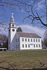 """Jaffrey Meetinghouse. Photo used for 'Historic Churches and Meetinghouses in the Monadnock Region"""" poster."""