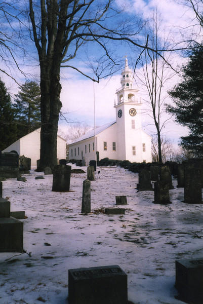 From the Old Burying Ground, February 2002