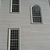 Windows, north facade, center. 7/25/15.