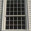 Pulpit window, north facade. 7/25/15.