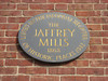 Plaque on the old mill office building at the corner of Main and North Streets. Carved by Frankie Bunyard.
