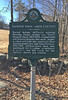 Hannah Davis - Amos Fortune NH State Historical Marker, Route 124, Jaffrey Center. March 19, 2016.
