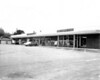Belletete's supermarket (building supplies in the basement) and state Liquor Store at time of grand opening. 1961