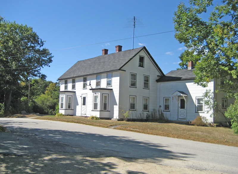 The site of Jaffrey's first Town Meeting. Wright Tavern, Gilmore Pond Road. September 14, 1773.