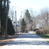 Bradley Court looking towards Main Street, April 15, 2016.