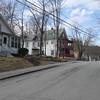 Charlonne Street looking north, westside of street. March 31, 2016.