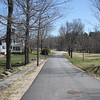 Meetinghouse Road looking east. Main Street in distance. April 15, 2016.