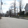 School Street at Main Street, looking south. March 31, 2016.